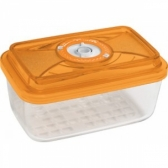 Стеклянный контейнер прямоугольный (большой) 26х21х9,5 - 2,9 л