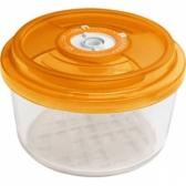 Стеклянный контейнер круглый диам.23 см, выс.10,5 см - 2,6 л