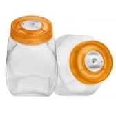 Текси емкости стеклянные 2 шт по 2,5 л