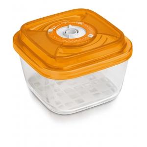 Стеклянный контейнер квадратный (средний) 19х19х9,5 - 1,75 л